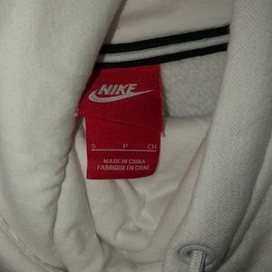 Nike Tops - White Nike Hoodie